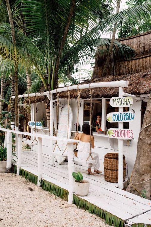 25+ Spectacular Beach Restaurant Interior Exterior Design Ideas – #BEACH #Design…   – Strand