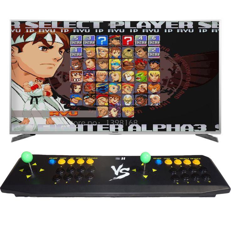 New Version Pandora's Box 4S+/4S/4 HDMI VGA Output for TV PC 2 Player Arcade Game Controller Joystick/ Fighting Games Rocker #Affiliate