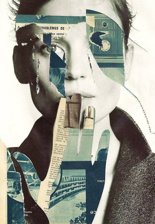 """problèmes de central""  yann faucon Love this #collage."