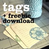 Using Baker's Twine for Tags (Printable Download Freebie and Tutorial)