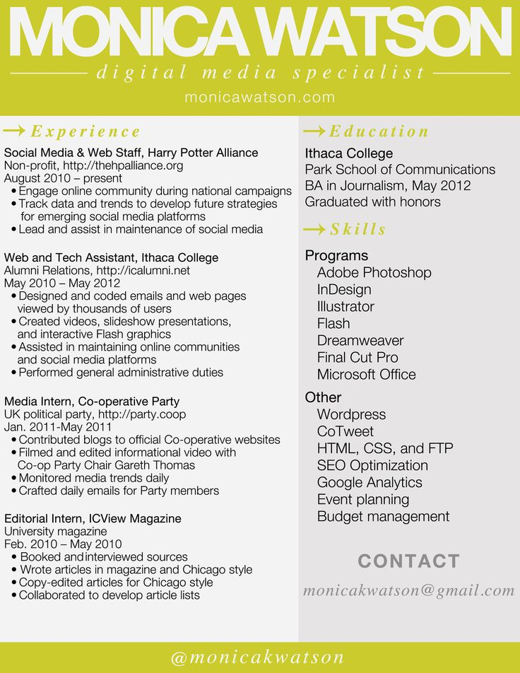 19 best resumes images on Pinterest Resume ideas, Resume tips - resumes by marissa
