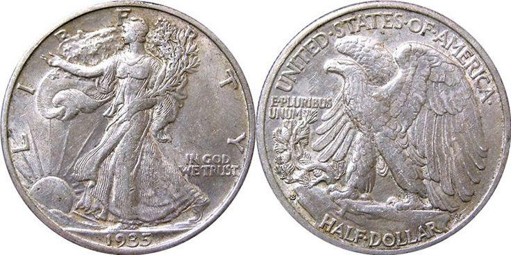 Mezzo dollaro Liberty d'argento