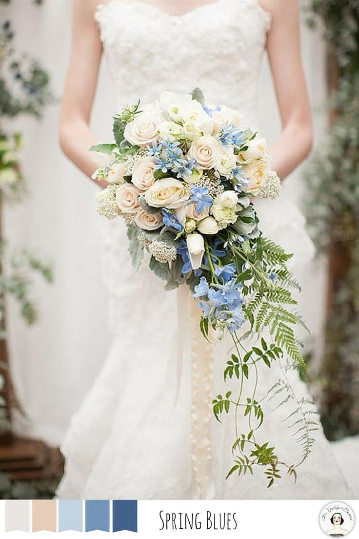 Snippets, Whispers and Ribbons – 5 Perfect Palettes for a Spring Wedding
