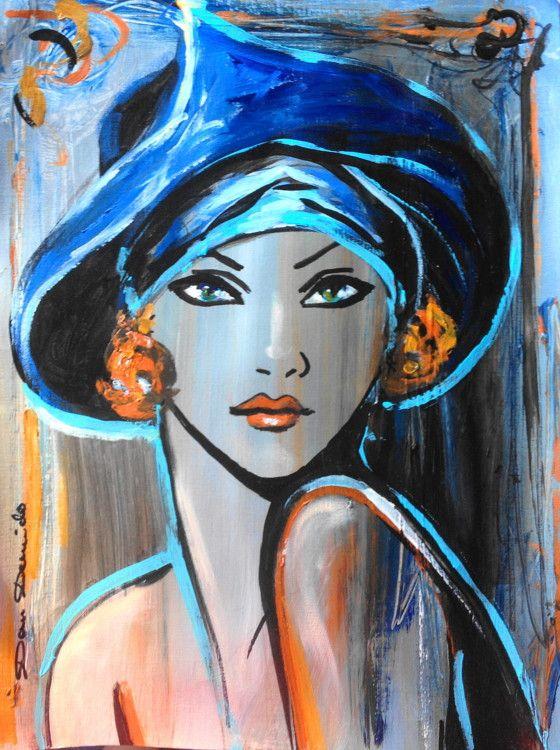 17 meilleures id es propos de cours de peinture - Peindre sur peinture acrylique ...
