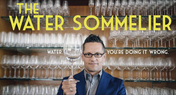 The Water Sommelier #Documentary #Reporting #Journalism by MEL Films, David Freid (USA)