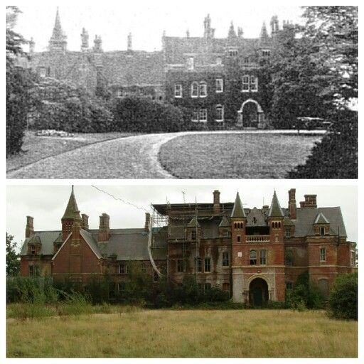 Lillesden School For Girls then and now  Old Buildings in