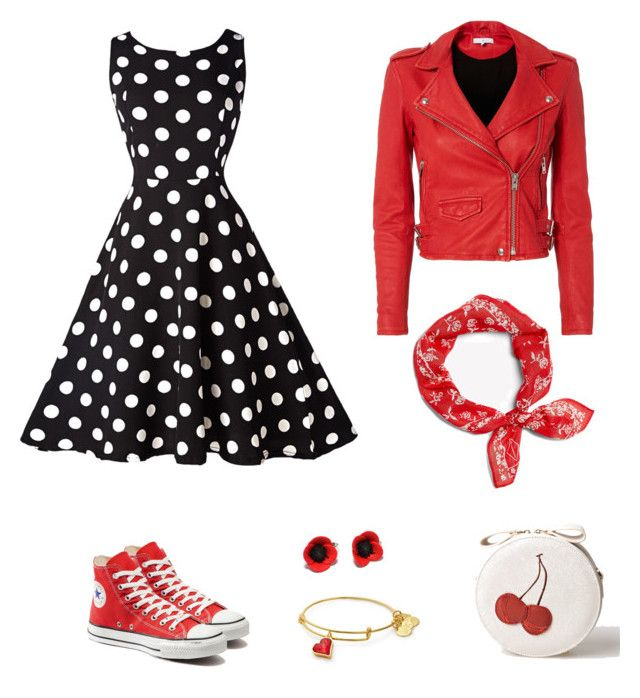 """60's"" by maleja-castro-torres on Polyvore featuring moda, Converse, IRO y rag & bone"