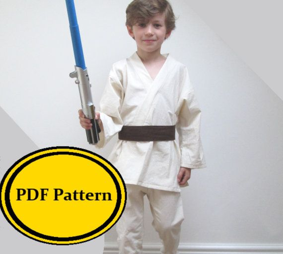 My children love to be Jedi Knights. This costume will transform your child into looking like their favourite Star Wars Character, such as