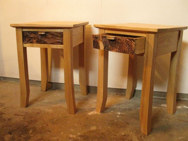 End Tables - Elm by HGJoinery on Etsy