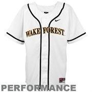 Nike Youth Wake Forest Replica Baseball Jersey $49.95
