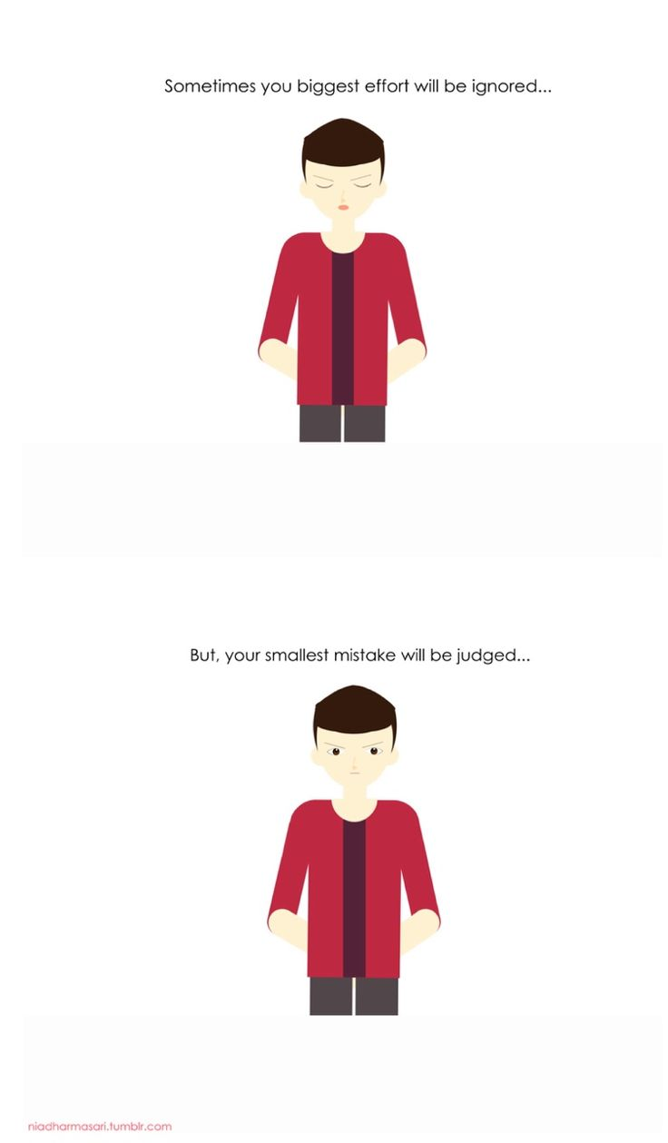 "Cute Doodles Illustration — ""Sometimes you biggest effort will be ignored...."
