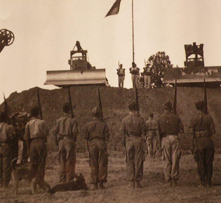 la légion en Indochine. -Jour de Camerone Hanh Thang Thay 1953.