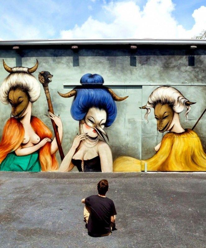 Miss Van /// Women on the Walls, Miami Wynwood Wall