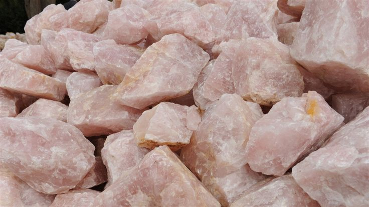 Rose quartz sells for about $30 a ton in Malawi; the international retail cost is exponentially higher. Guy Oliver/IRIN