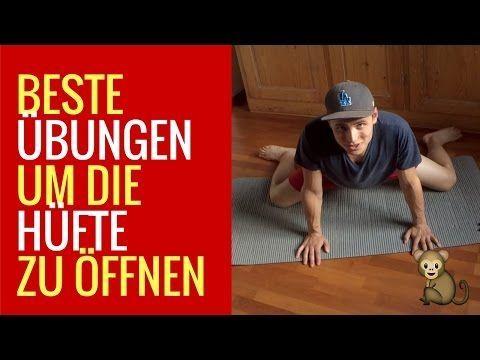 Die besten Stretches, um die Hüfte SOFORT zu öffnen! - YouTube