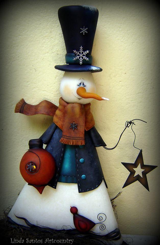 muñeco country navidad