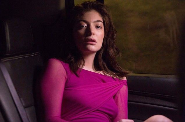 "New Zealand singer-songwriter Lorde premiered a new music video for ""Green Light"" from her second album ""Melodrama"". Directed by Grant Singer."