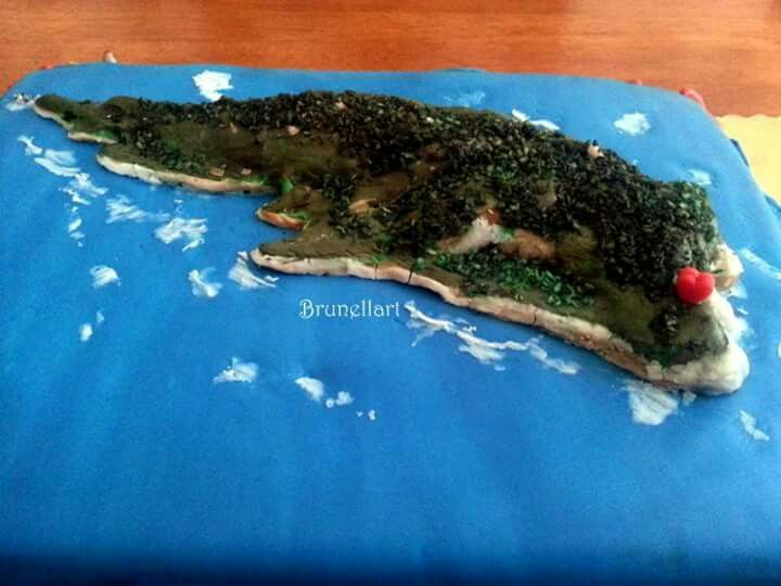 Isola Palmaria cake