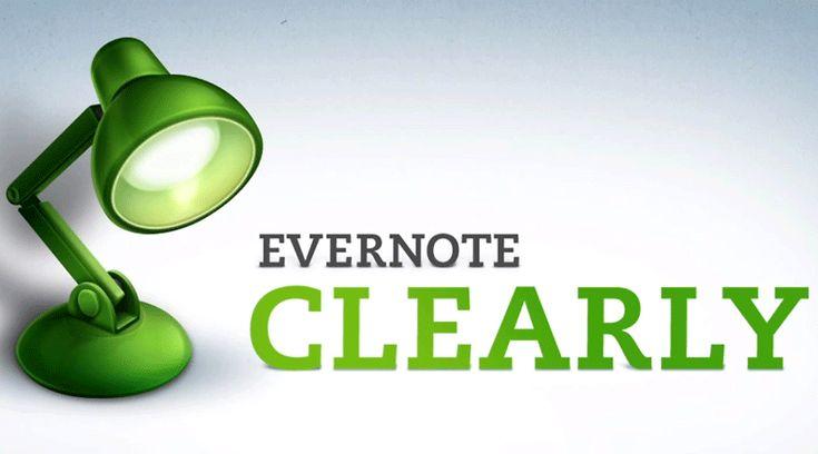 Caixa de ferramentas: Evernote Cleary
