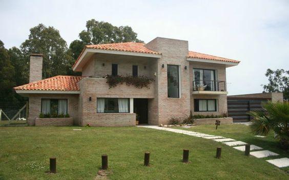 Fachadas de Casas Bonitas Con Teja de Casas Con Tejas 5 #modelosdecasasfachadas