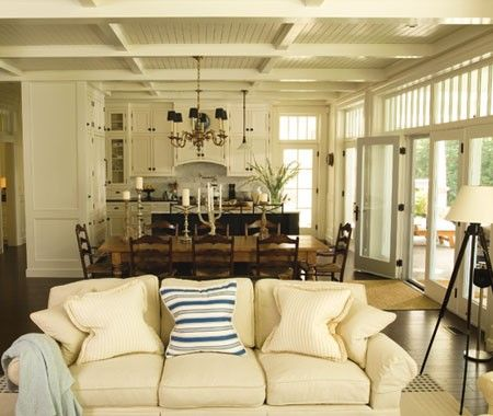 How To Decorate For An Open Living-Dining Space   House & Home