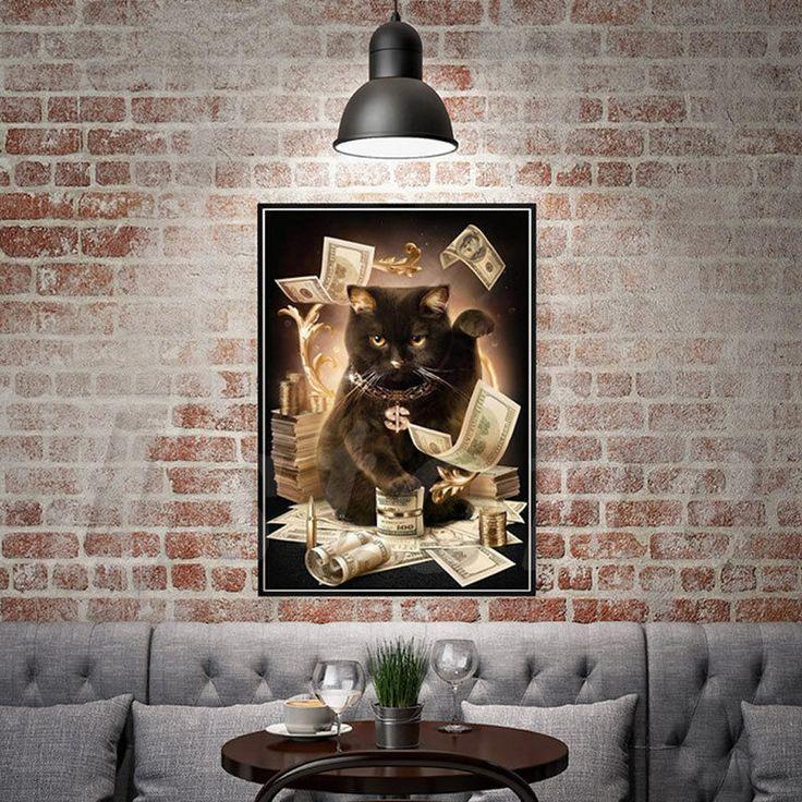 5D сделай сам удача кот набор для вышивки бриллиант,КАРТИНА,РЕМЕСЛО,ДОМ, ДЕКОР #