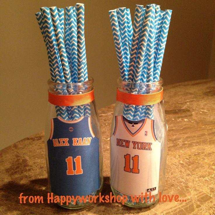 Basketball theme birthday party birthday party ideas for Basketball craft party ideas