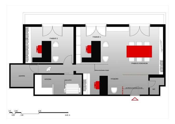 project_Office space in Piraeus | phase_Proposal | title_Plan #2 | architects_Ioanna Chamilou◦Natasa Markopoulou | year_2011