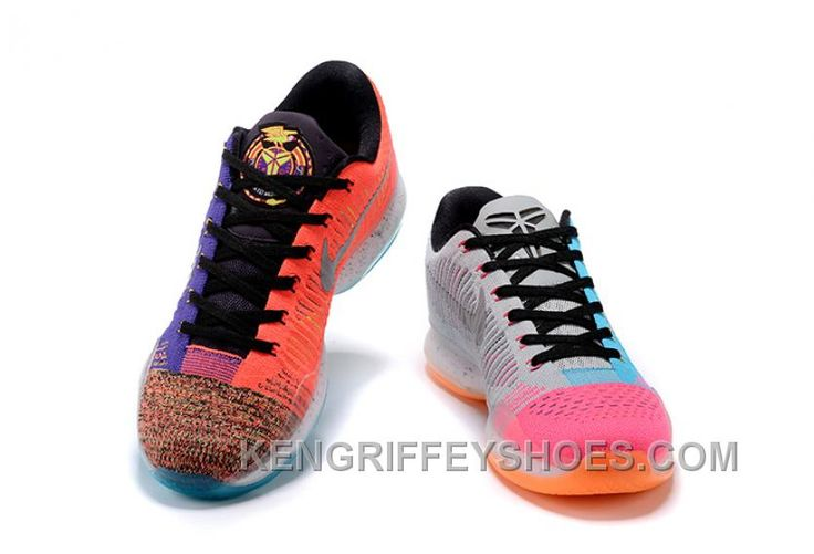 """https://www.kengriffeyshoes.com/2017-nike-kobe-10-elite-low-multicolor-what-the-mens-basketball-shoes-super-deals-ersznbf.html 2017 NIKE KOBE 10 ELITE LOW MULTI-COLOR """"WHAT THE"""" MENS BASKETBALL SHOES SUPER DEALS ERSZNBF Only $88.97 , Free Shipping!"""
