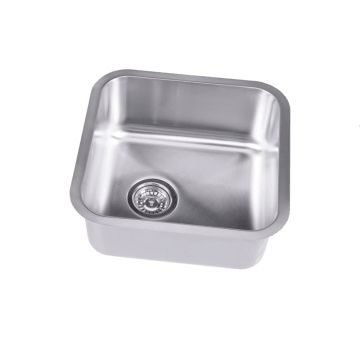 Sauber Stainless Steel Kitchen Sink 1 Bowl - Image 2