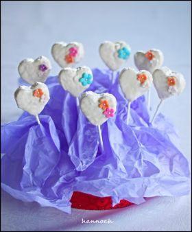 「バレンタインに♪ シリアルPOPS」hannoah   お菓子・パンのレシピや作り方【corecle*コレクル】