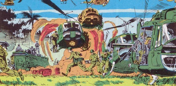 Comics and America's ambivalence about Vietnam War - https://www.deviantworld.com/world/politics/comics-americas-ambivalence-vietnam-war/