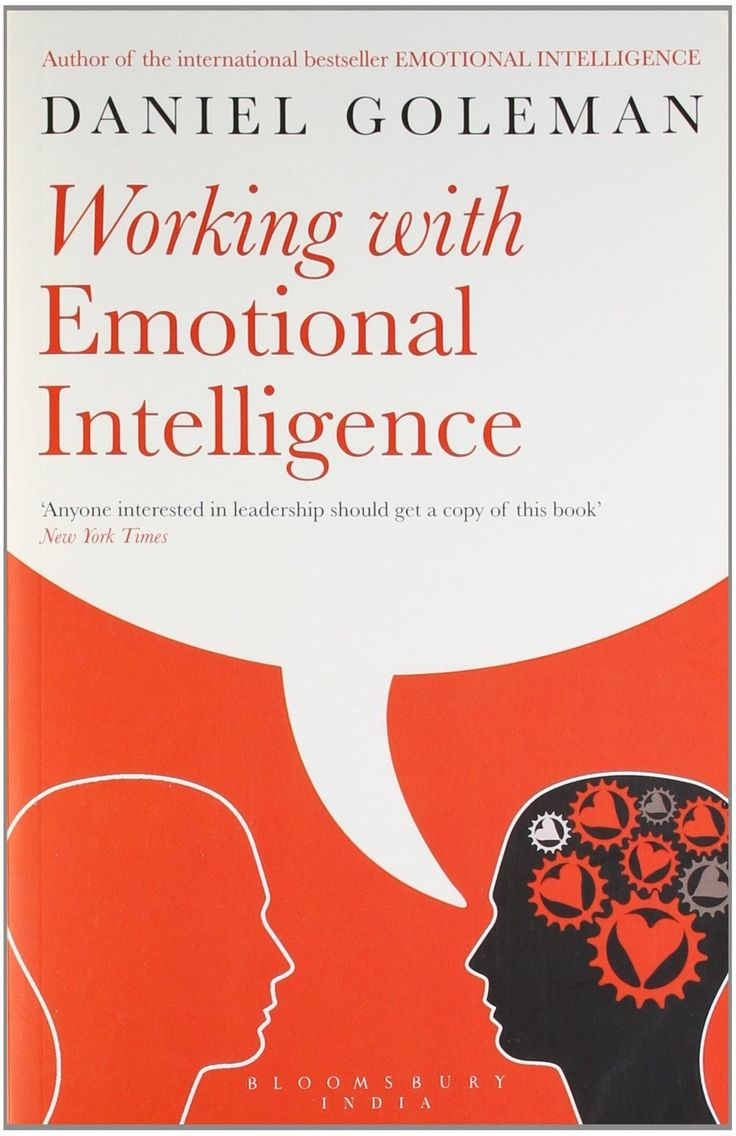 Working With Emotional Intelligence [paperback] [jan 01, 2012] Daniel  Goleman]