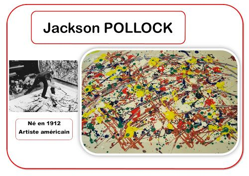 Jackson Pollock - Portrait d'artiste