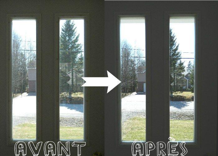 Une recette écologique et économique de nettoyant à vitre, pour des fenêtres et des miroirs propres propres!