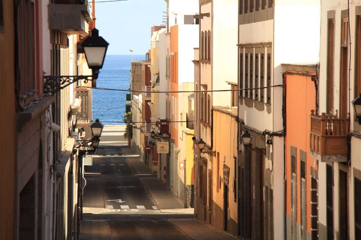 Old town in Las Palmas