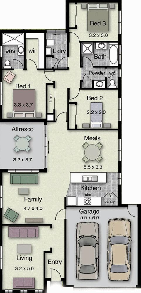 195 Best Shouthern Home Images On Pinterest | House Floor Plans, Dream House  Plans And Architecture