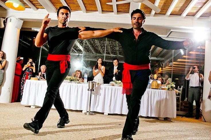 Entertainment - Greek Dancers Dream your Wedding in Mykonos  www.mykonos-weddings.com
