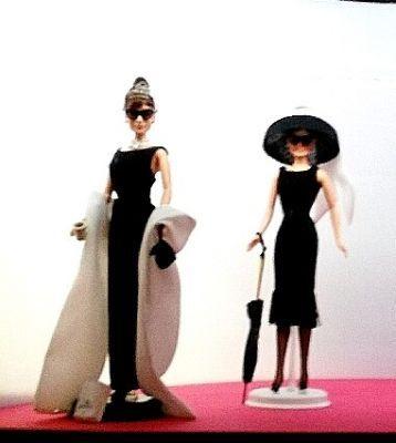 """Barbie Audrey Hepburn nel film """"Colazione da Tiffany"""". Mostra di Barbie - Roma, 24/09/2016 © Elena Paoletta #barbie #mostra #barbietheicon #eventi #vittoriano #complessodelvittoriano #romaeventi #giochi #infanzia #bambina #bambola #condivisione #enjoy #happygirl #artwork #love #fan"""