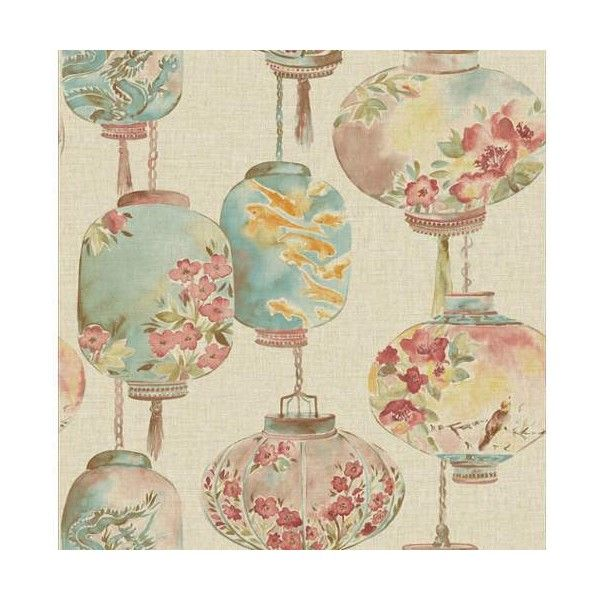 Brewster 2669-21712 Kana Beige Lantern Festival Wallpaper Beige (6.695 RUB) ❤ liked on Polyvore featuring home, home decor, wallpaper, beige lantern, beige wallpaper, paper wallpaper, bird home decor, pattern wallpaper and brewster home fashions