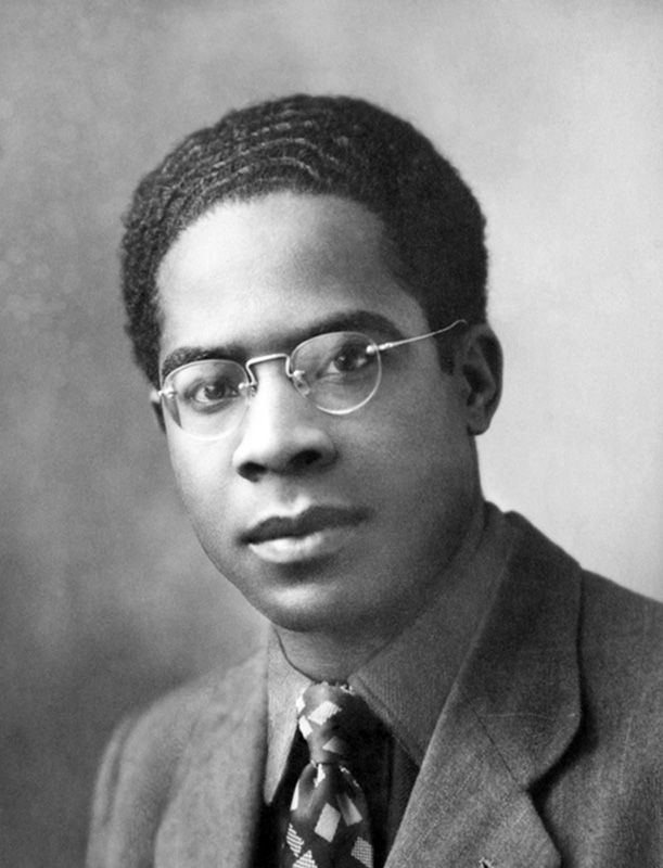 """Aimé Césaire, a young Black Martinican returns after his studies in France. He wrote several poems and books on the condition of black people in the Caribbean is the most famous """"Notebook of a Return to the Native Land"""" (Carnet de note du retour au Pays natal)."""
