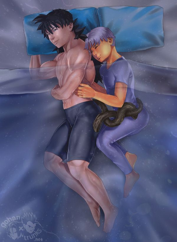 Will You Share My Bed? - Boxer & Rice: DBZ Yaoi Fanfiction & Fanart Archive For All Pairings
