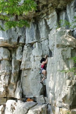 Rock Climbing Rattlesnake Point, Milton, ON, Milton Real Estate agent, Katherine Barnett, broker