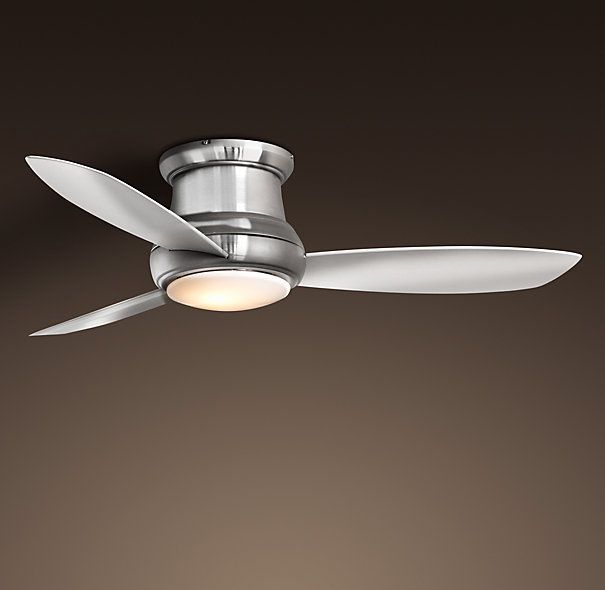 Great for the Master  - Concept Fan with Light - Restoration Hardware