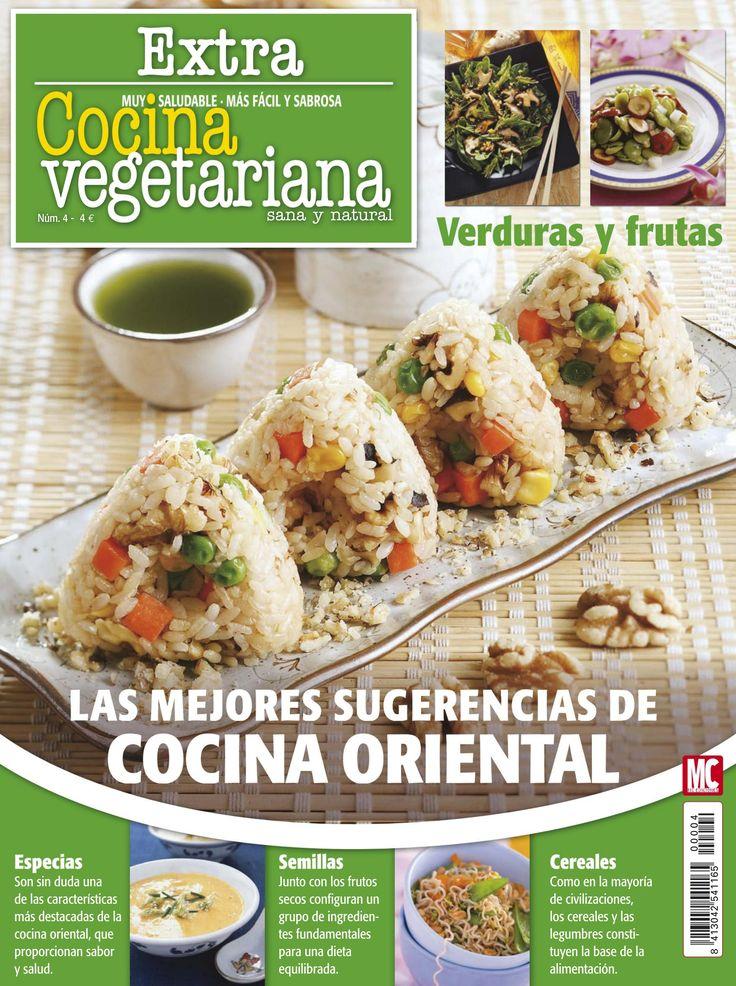 Revista #COCINAVEGETARIANA Extra 4. Las mejores sugerencias de #cocina #oriental.