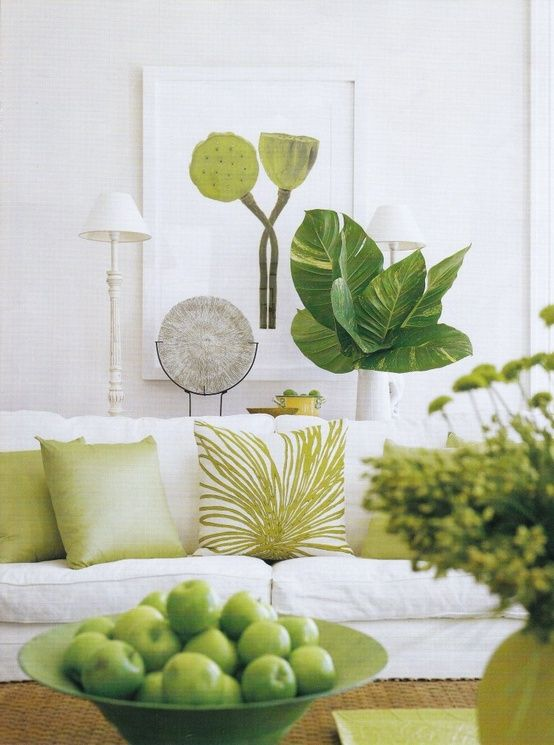 Interior Design Trends 2013 - Nature Inspired Decoration....love bringing the outdoors inside!