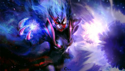 Repainted my old Vengeful Spirit pic from early 2013. :D I like how this turned out (which is rare).