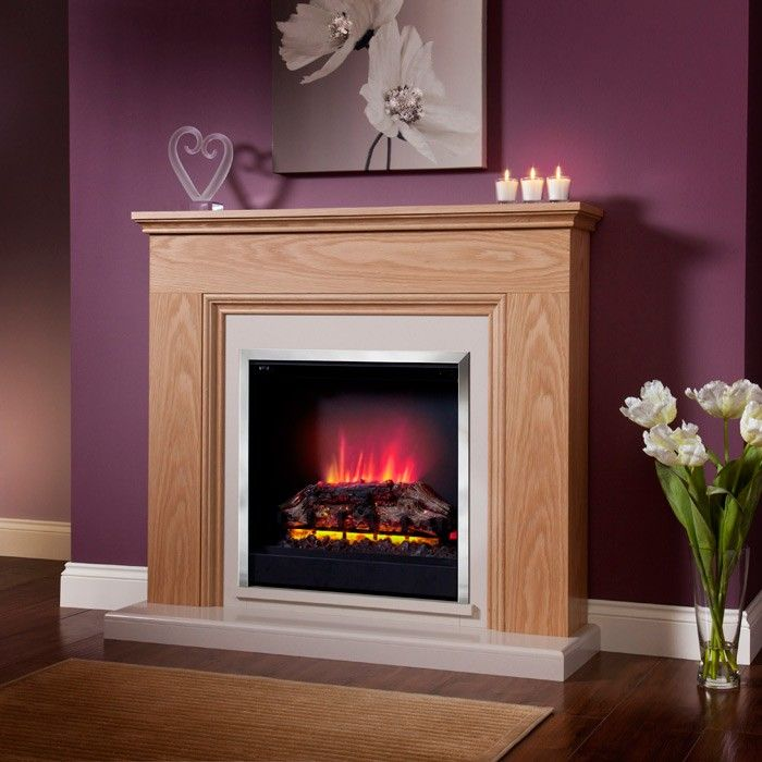 Ordinary Modern Electric Fire Suites Part - 10: Be Modern Stanton Electric Fireplace Suite - Electric - Fireplace Suites -  Fireplaces From Stores Direct