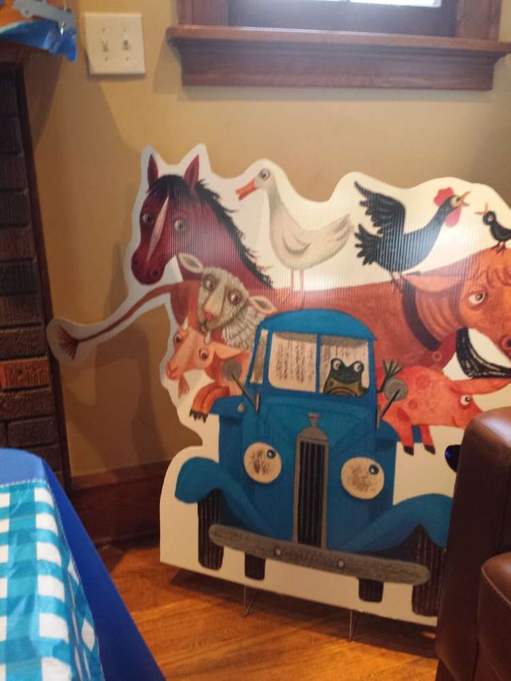 Blue/Little Blue truck Birthday Party Ideas | Photo 7 of 17 | Catch My Party