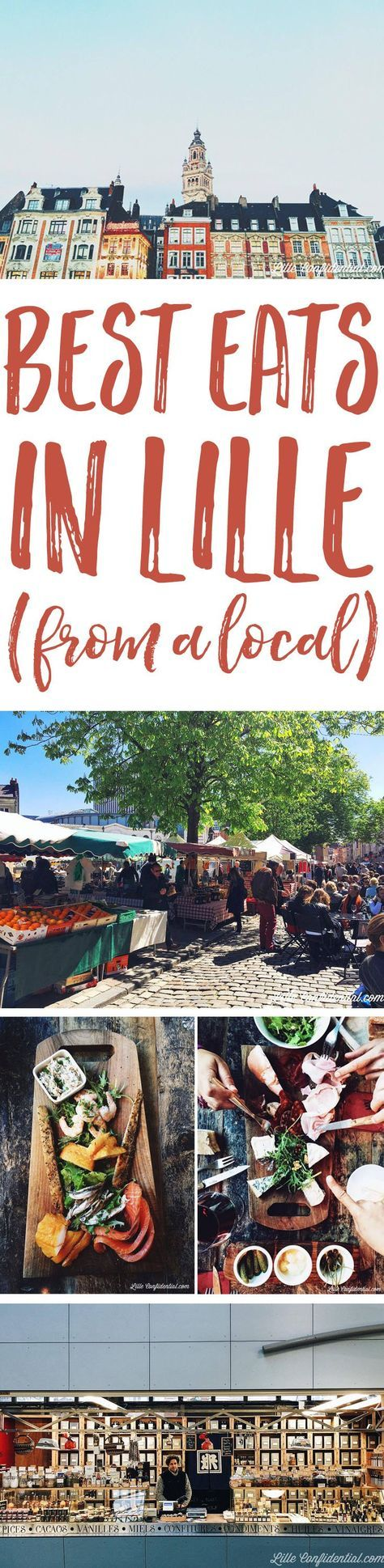 Planning a trip to Lille? Don't miss this selection of the best eats in Lille to wine, dine, and shop like a local Lilloise!
